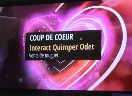Prix coup de 💖 au Club Interact de Quimper-Odet